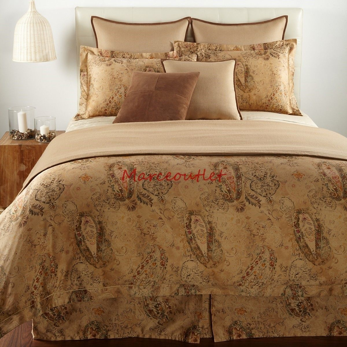 Ralph Lauren Verdonnet Collection Paisley Bedding King