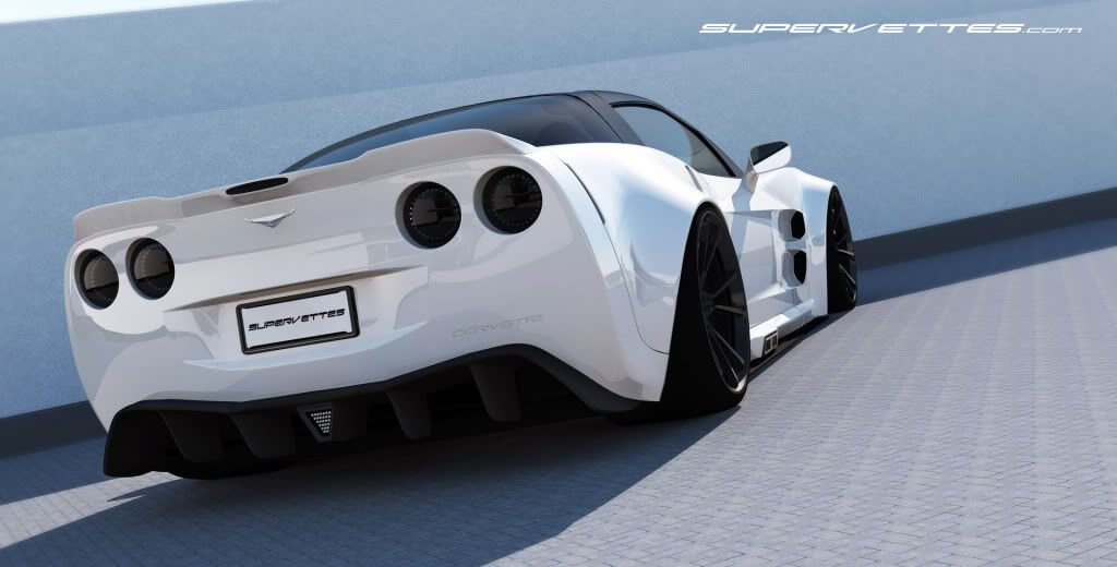 Corvette new gt6x extreme widebody conversion from