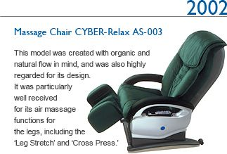 Genial 2002 Massage Chair CYBER Relax AS 003 This Model Was Created With Organic  And