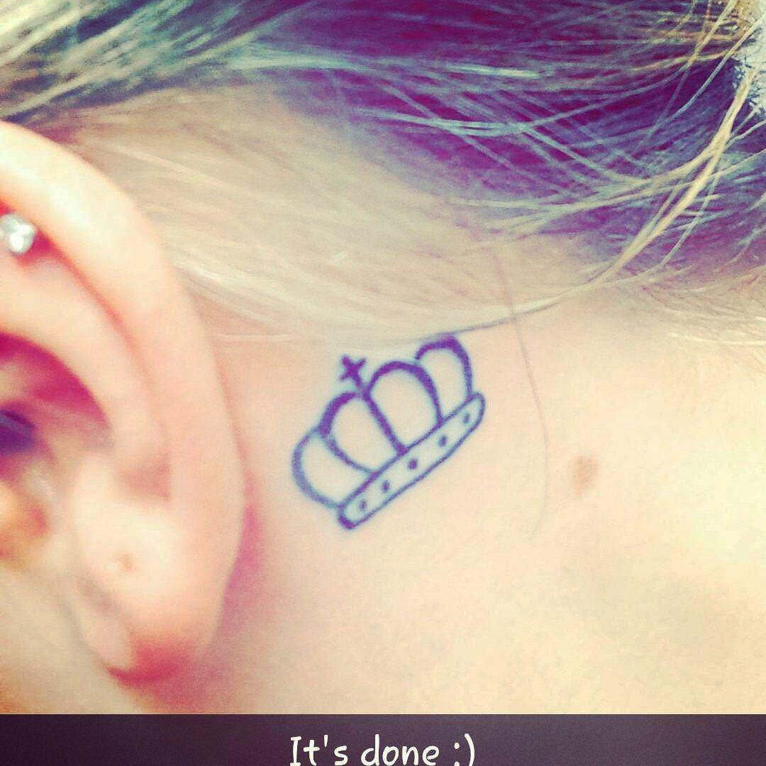 16++ Astonishing Birth year tattoo behind ear image HD