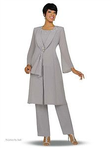 cee4d261310 Misty Lane 13506 Aqua Blue or Silver Womens Evening Pant Suit Outfit ...
