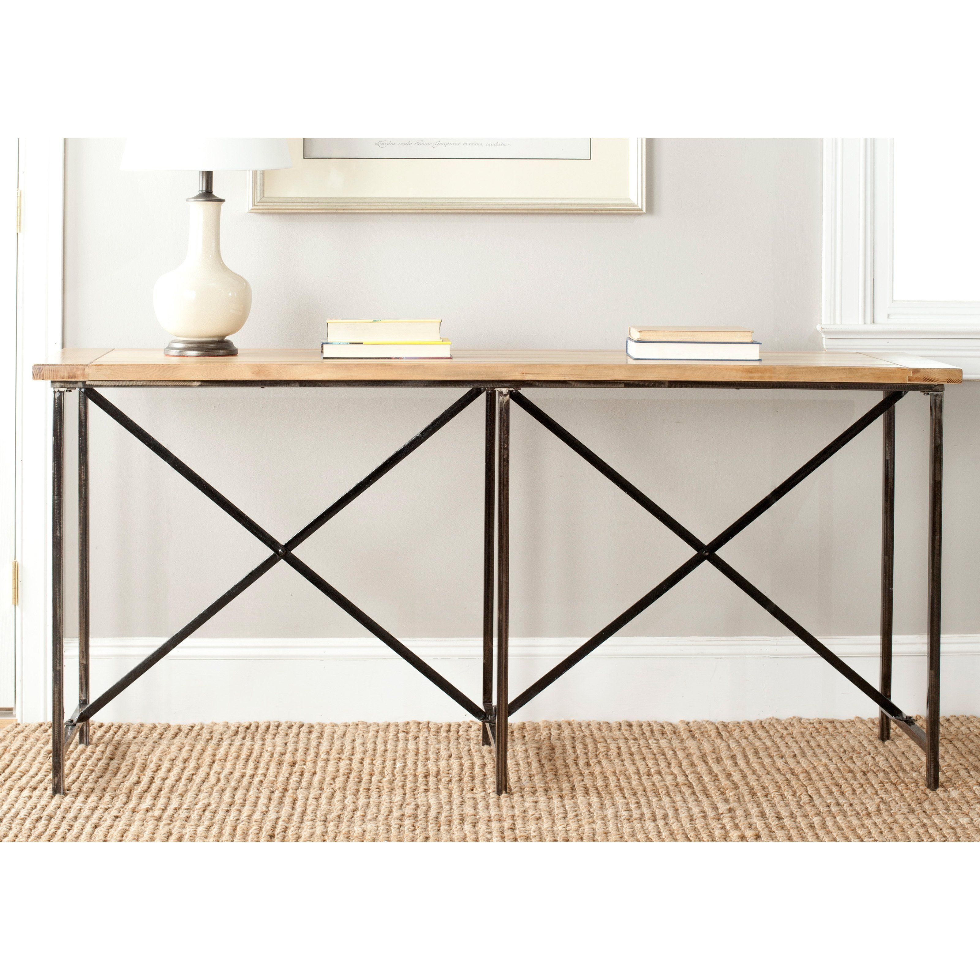 Have to have it. Safavieh Simon Console Table - Natural $319.99