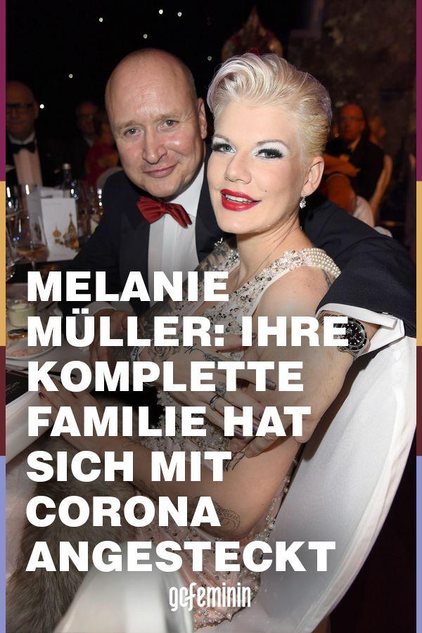 Melanie Müller: Ihre ganze Familie hat sich mit Corona
