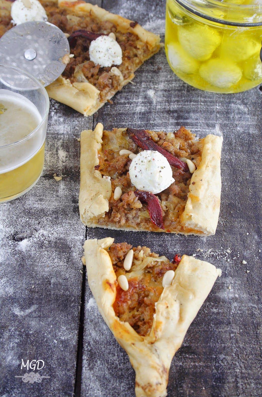 Lahmacun  Pizza Turca con labneh mi gran diversion