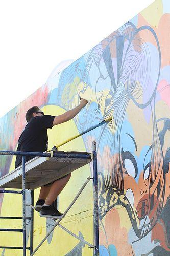 Photo by Jeremiah Garcia    - more at www.streetart.nl #3d #streetart