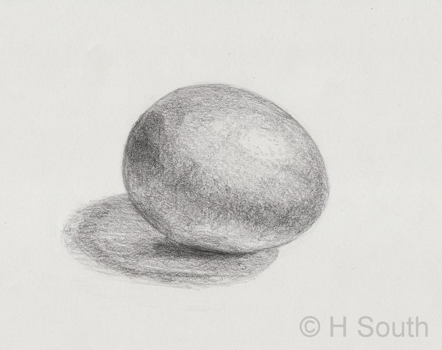 Scribble Drawing Exercise : How do you shade an egg drawing exercises drawings and