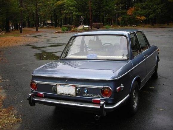 1973 BMW 2002tii For Sale Blue Rear | BMW 1600 - 2002 | Pinterest ...