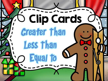 Need something for early finishers, centers, and small group? Clip cards are PERFECT!This packet includes 55 clip cards to help students identify the correct symbol for greater than, less than, and equal to... You can add stickers to the back of the card to show the correct answer.