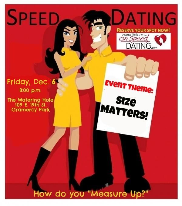 Let's Go Speed Dating!