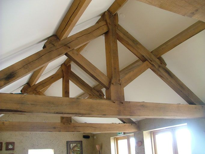 King truss could be nice for the exposed areas key for Buy roof trusses