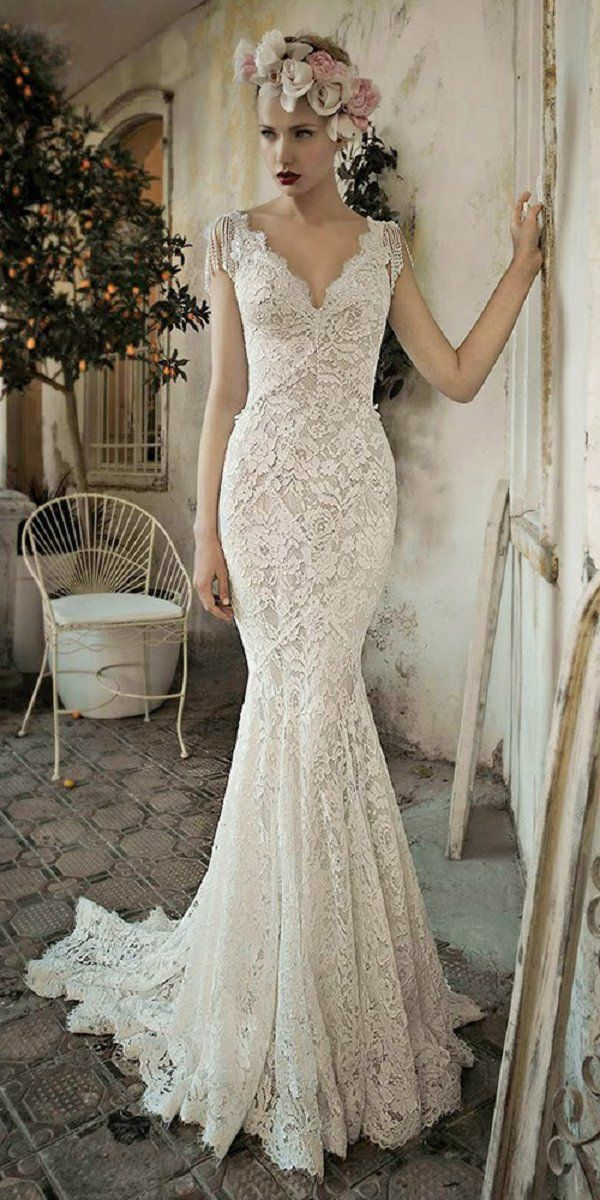 100 Prettiest Vintage Wedding Dresses You Will Love Vintage Inspired Wedding Dresses Lihi Hod Wedding Dress Wedding Dresses Lace