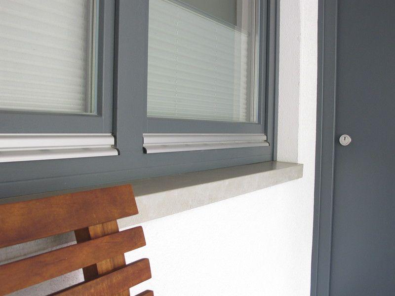 Für innen und außen eine Option: Fensterbänke aus Beton ...
