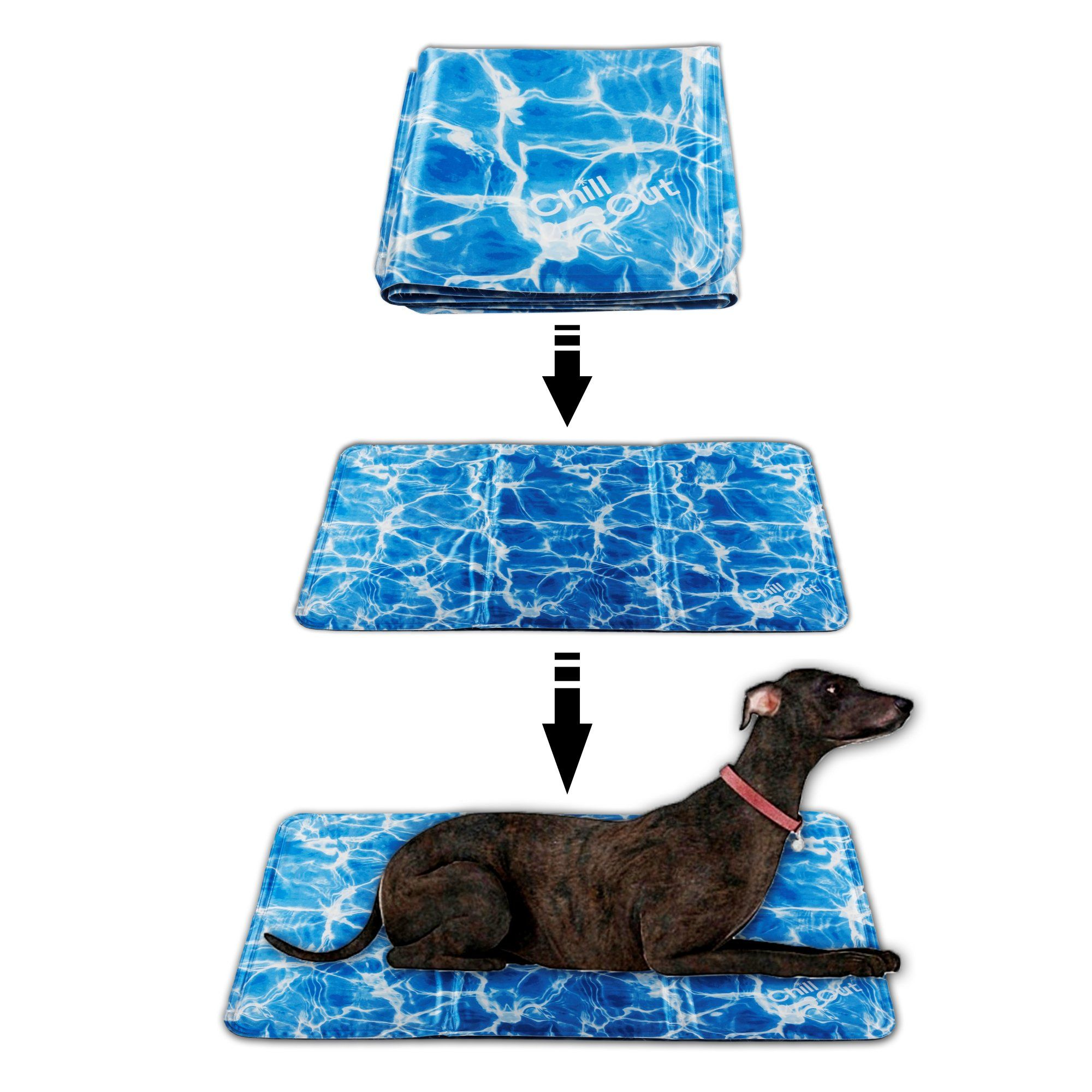 All For Paws Pet Cooling Mat Dog Cooling Pad Self Cooling Cushion Keeping Pets Cool Summer Sleeping Mat M Read More A Dog Cooling Pad Pet Cooling Mat Cat Bed