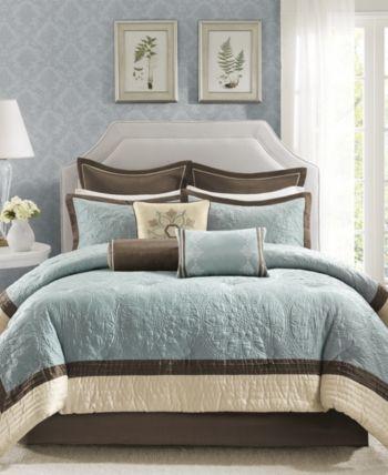 Madison Home Usa Juliana 9 Pc King Comforter Set Bedding