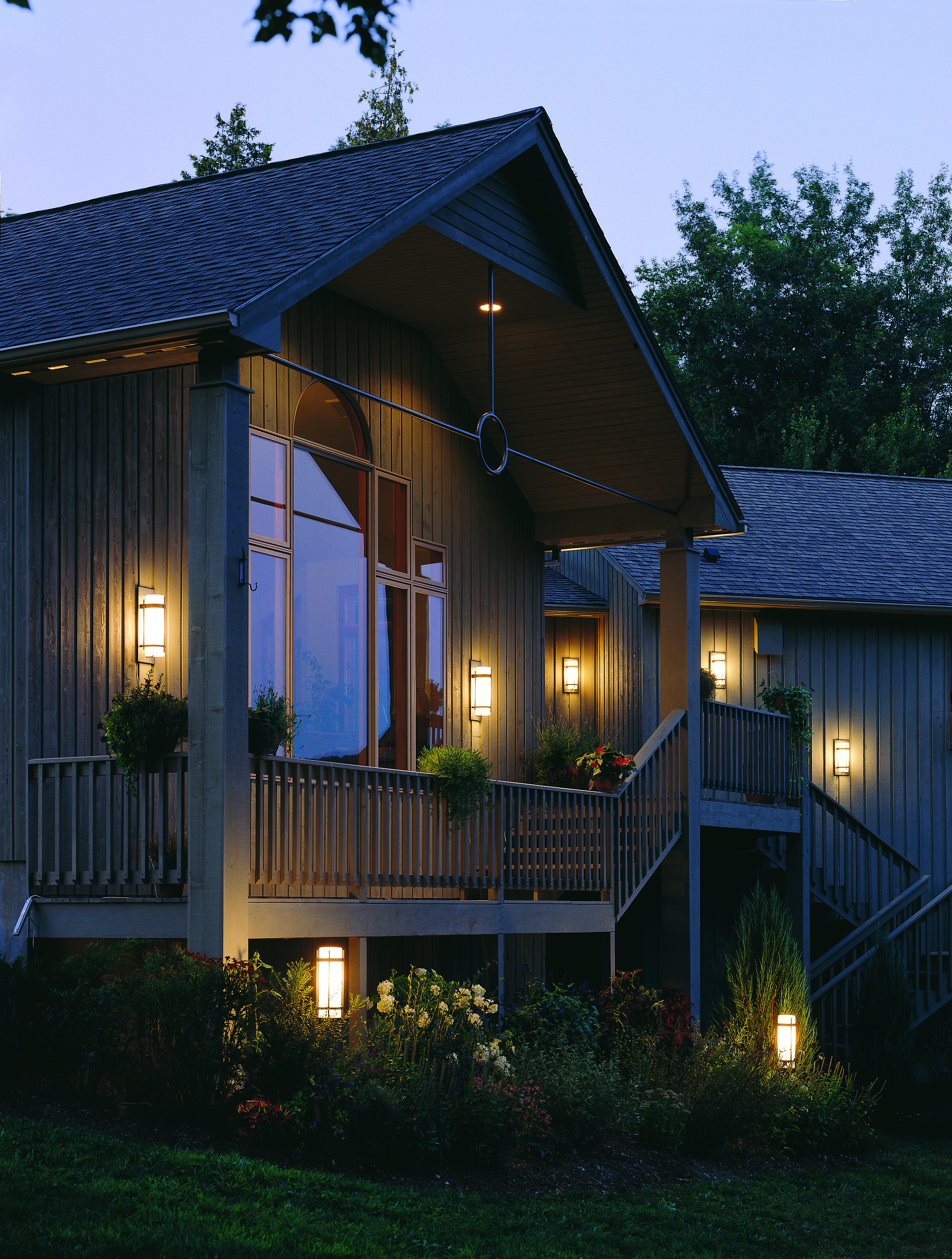 Enjoy Your Outdoor Living Space After Dark With Well Planned Lighting. Let  The Soft
