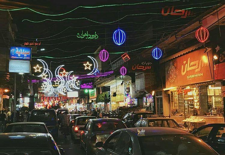 رمضان في الشام Syria Neon Signs Landmarks