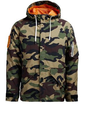 Jack /& Jones Originals T-Shirt Camo Camouflage Logo Crew Tee Mens JORCamoClub