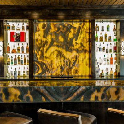Backlit Onyx Nuvolato Game Room Bar Stone Gallery Game Room Bar