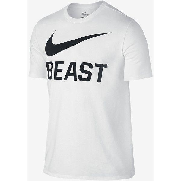 oleada Pino Lleno  Nike Swoosh Beast Men's T-Shirt. Nike.com ❤ liked on Polyvore featuring  men's fashion, men's clothing, men's shirts, … | Mens tshirts, Nike mens  shirts, Mens shirts