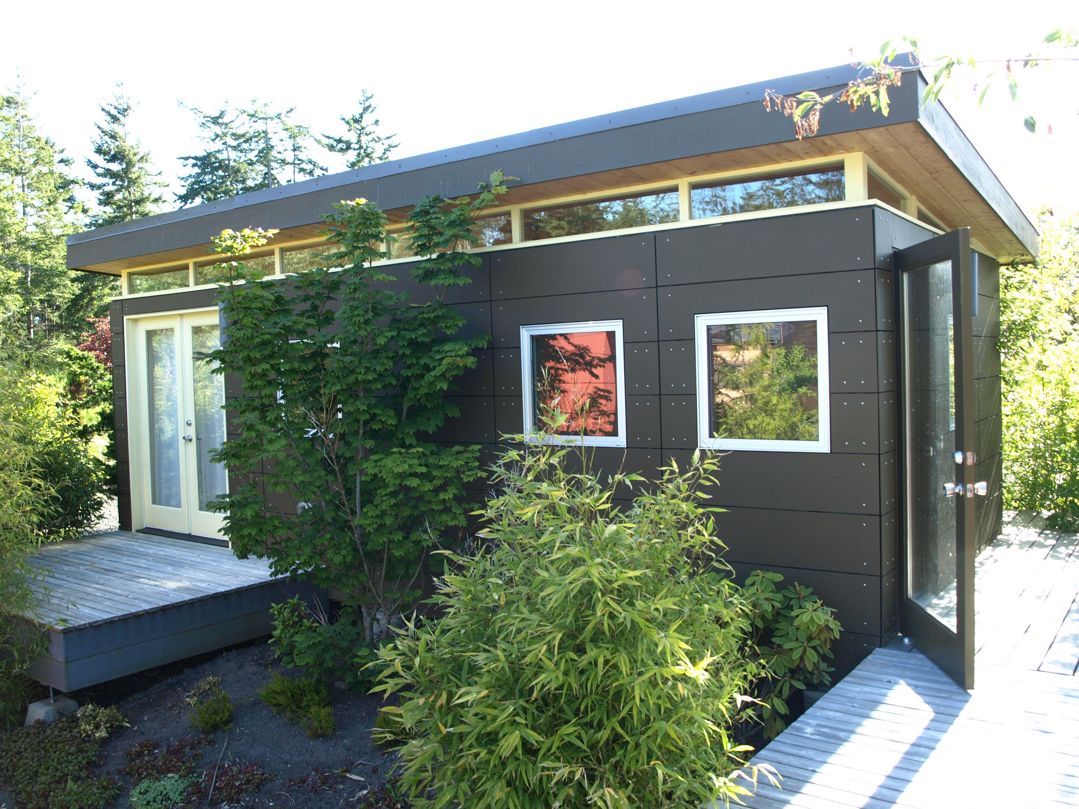 Mur Modern Prefab Homes Modular Homes Prefabricated Backyard Cottage In Law Suite Modern Prefab Homes
