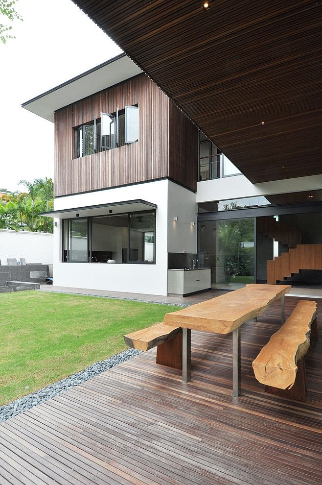 Design sunset terrace house architology stylish bungalow inspired residence in singapore sunset terrace house