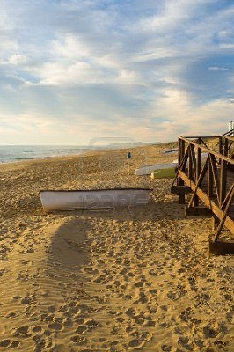 Idílico Playa Mediterránea En Guardamar Costa Blanca Costa Blanca Costa Playa