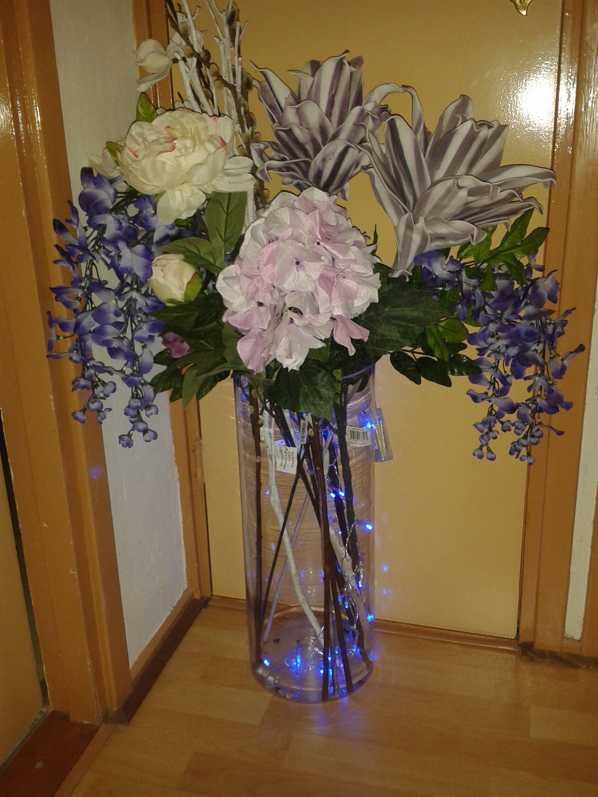 Kunstbloemen met verlichting | Annie\'s idee | Pinterest