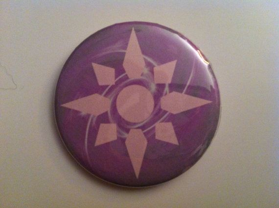 "Digimon Crest of Light 2.25"" Button Pin on Etsy, $3.00"