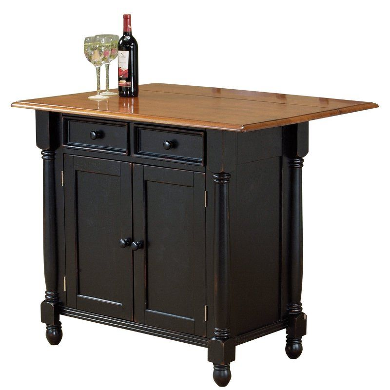 Sunset Trading Drop Leaf Kitchen Island - DLU-KI-4222- | Products ...