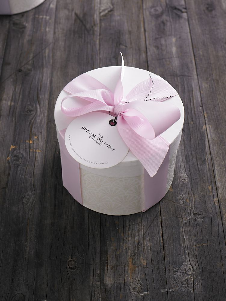 GIFT WRAPPING The Special Delivery Company Hat Box with