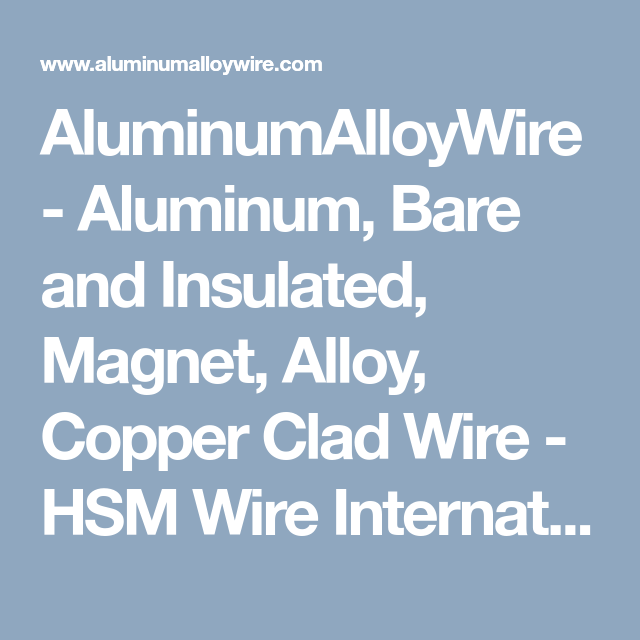 Copper clad aluminum alloy wire | Copper clad aluminum alloy wire ...