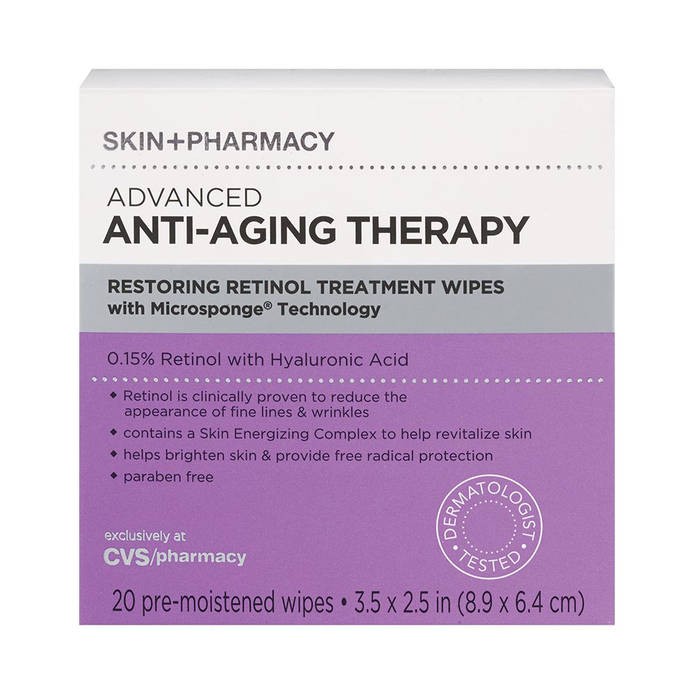 Sold Exclusively At Cvs These Retinol Wipes Are Easy To Use And