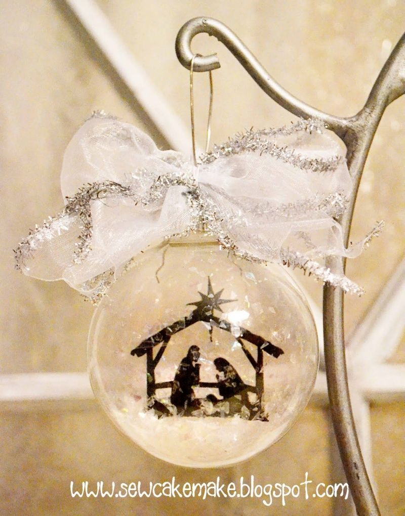 DIY CHRISTMAS ORNAMENTS | Diy Glass Christmas Tree Ornaments ...