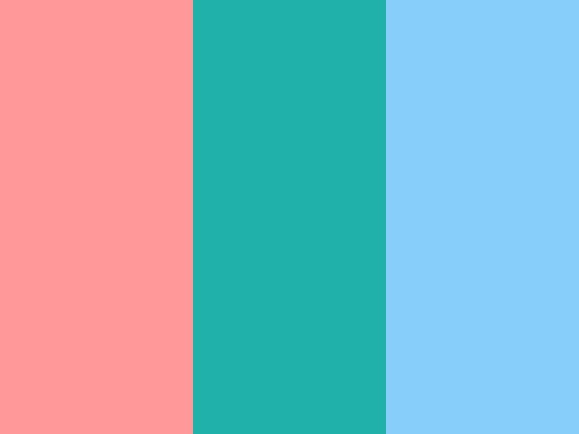 1152x864 light salmon pink light sea green light - Light Sky Blue Color