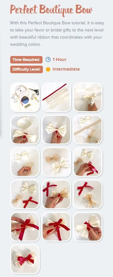 How To Make A Perfect Boutique Bow Offray Projects Hairbow