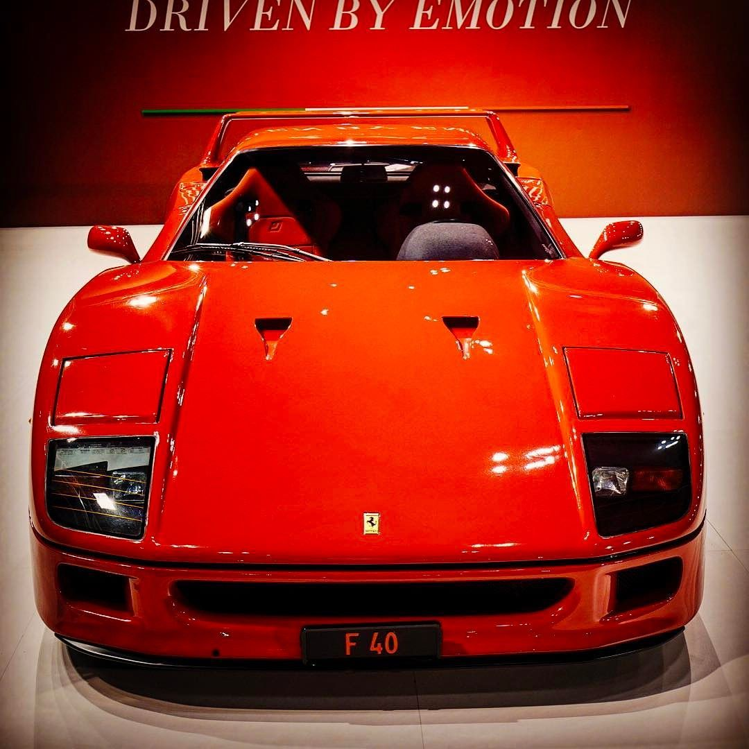 My Dream Car Ferrari Drivenbyemotion F40 Ferrarif40 Russored