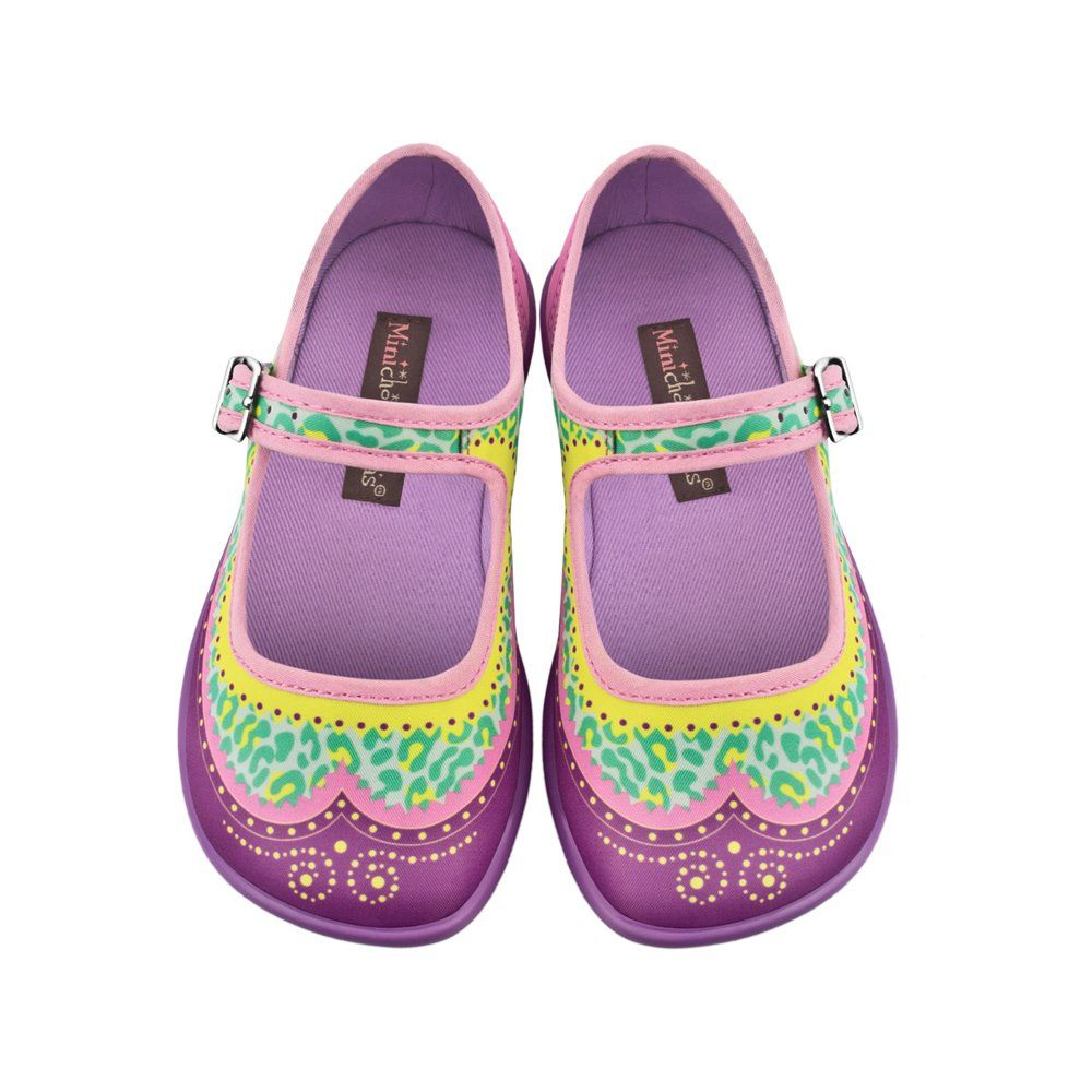 4193bf8d7 Amazon.com: Hot Chocolate Design Mini Chocolaticas Habana Zoo Girls Mary  Jane Flat: Shoes