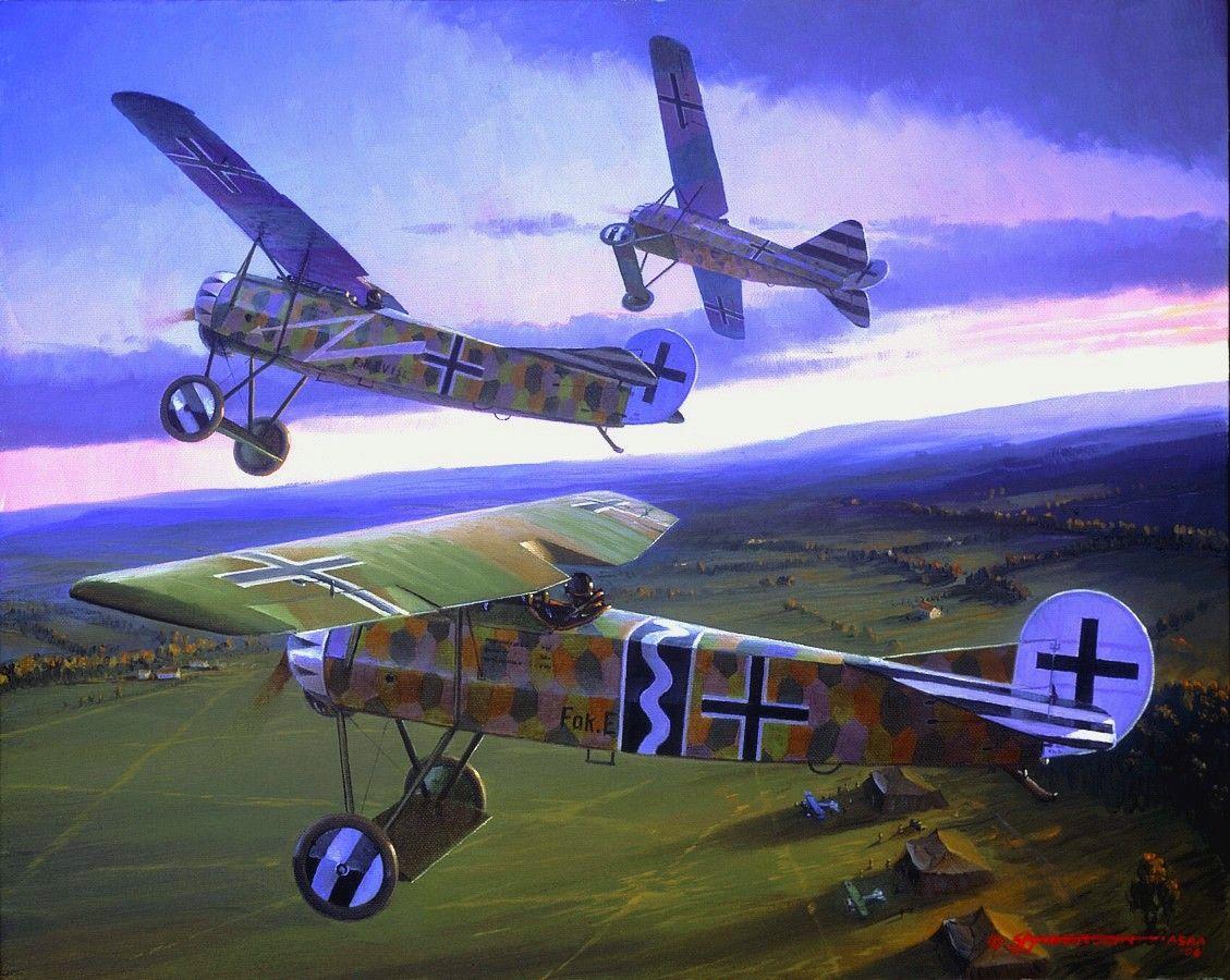 Ten Days In August, by Steve Anderson (Fokker E.V)                                                                                                                                                                                 More