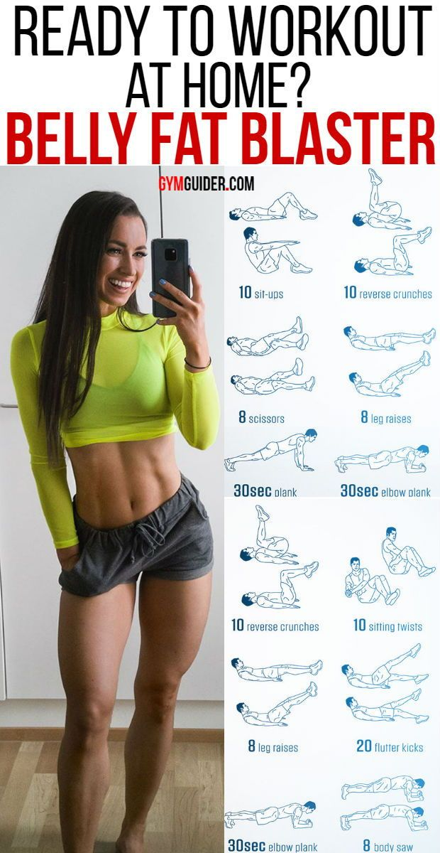 BEST home Exercises to Lose Belly Fat For Men and Women