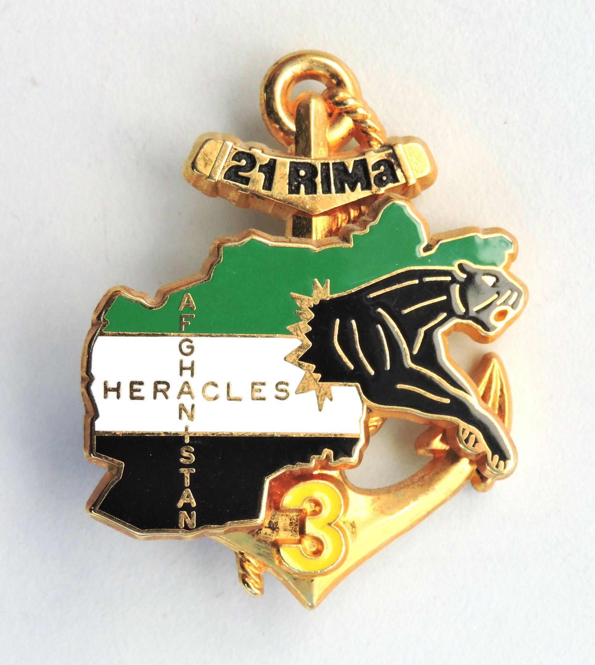 Insigne 21 Rima 3 Compagnie Afghanistan Heracles Infanterie De Marine Insignes Militaires Tatouage Celtique