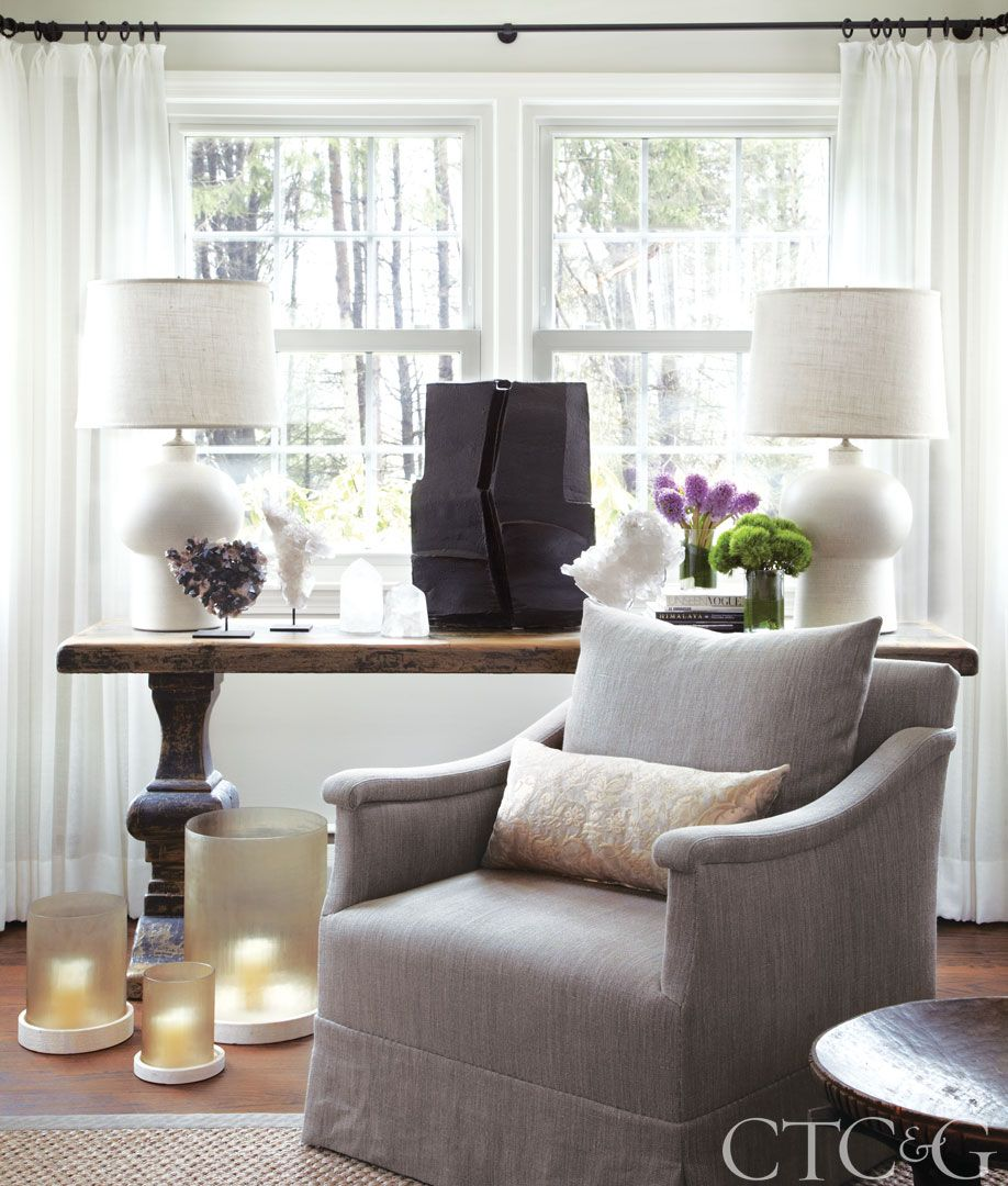 Step Inside a Country Home Infused with City Glamour | Vignettes ...