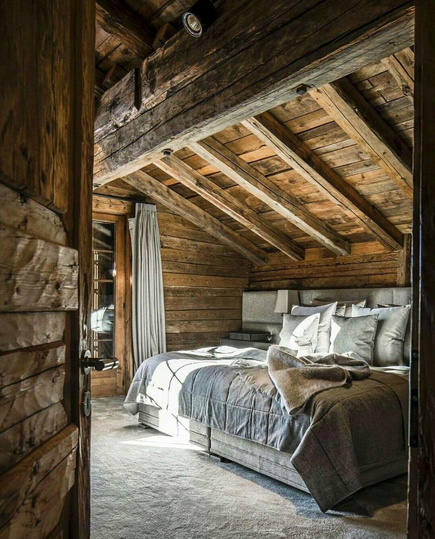 Pin de diana mari o en arquiteckt en 2019 caba as de for Modelos cabanas rusticas pequenas