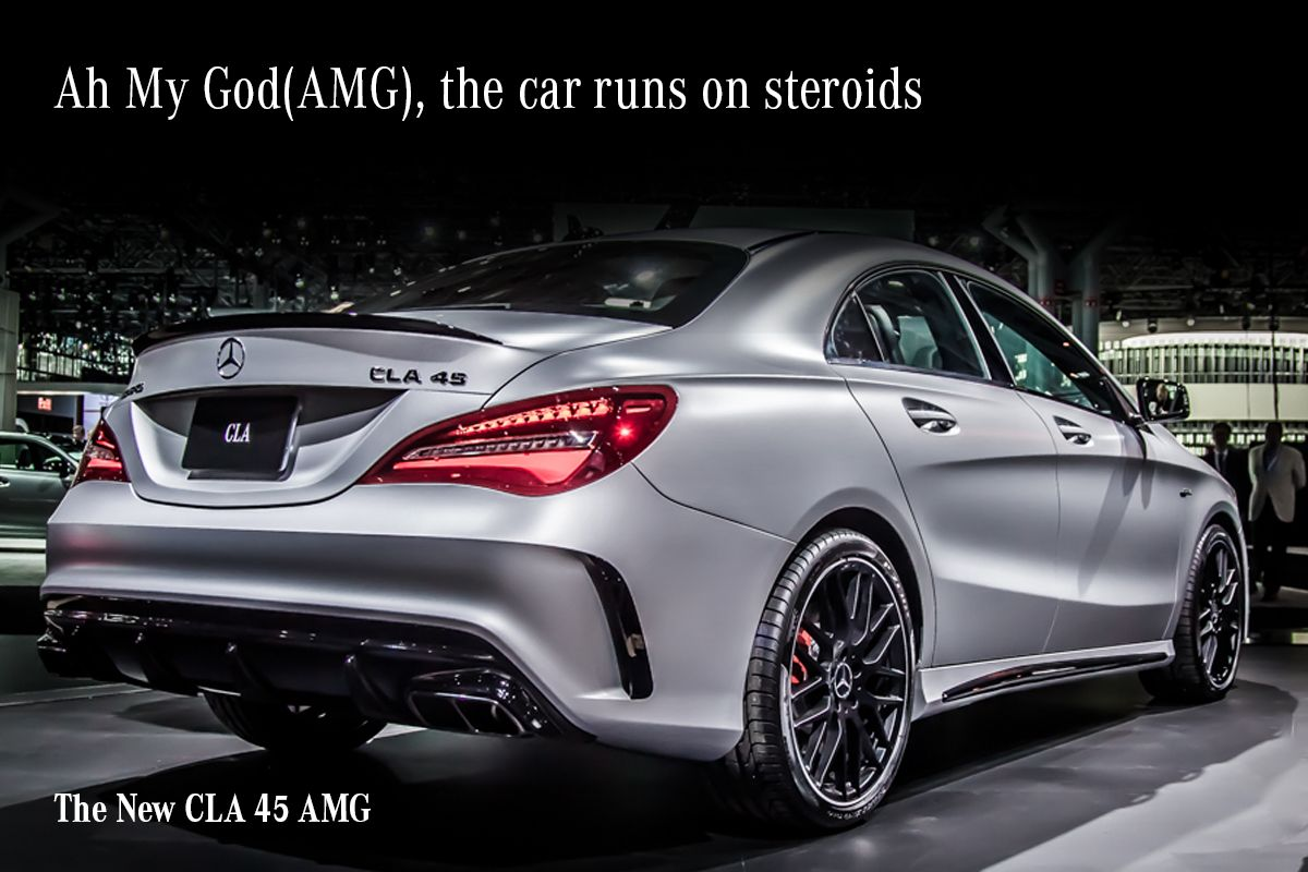 The expression \'Ah My God\', was invented just for the CLA 45 \'AMG ...