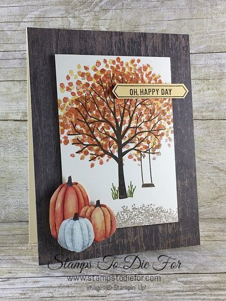 Sheltering Tree is Lovely This Time of Year #stampinup!cards