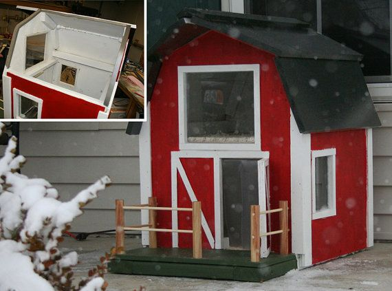 Heated Out Door Cat House Custome Built One At A Time 3 This Outdoor Cat House Outside Cat House Cat House