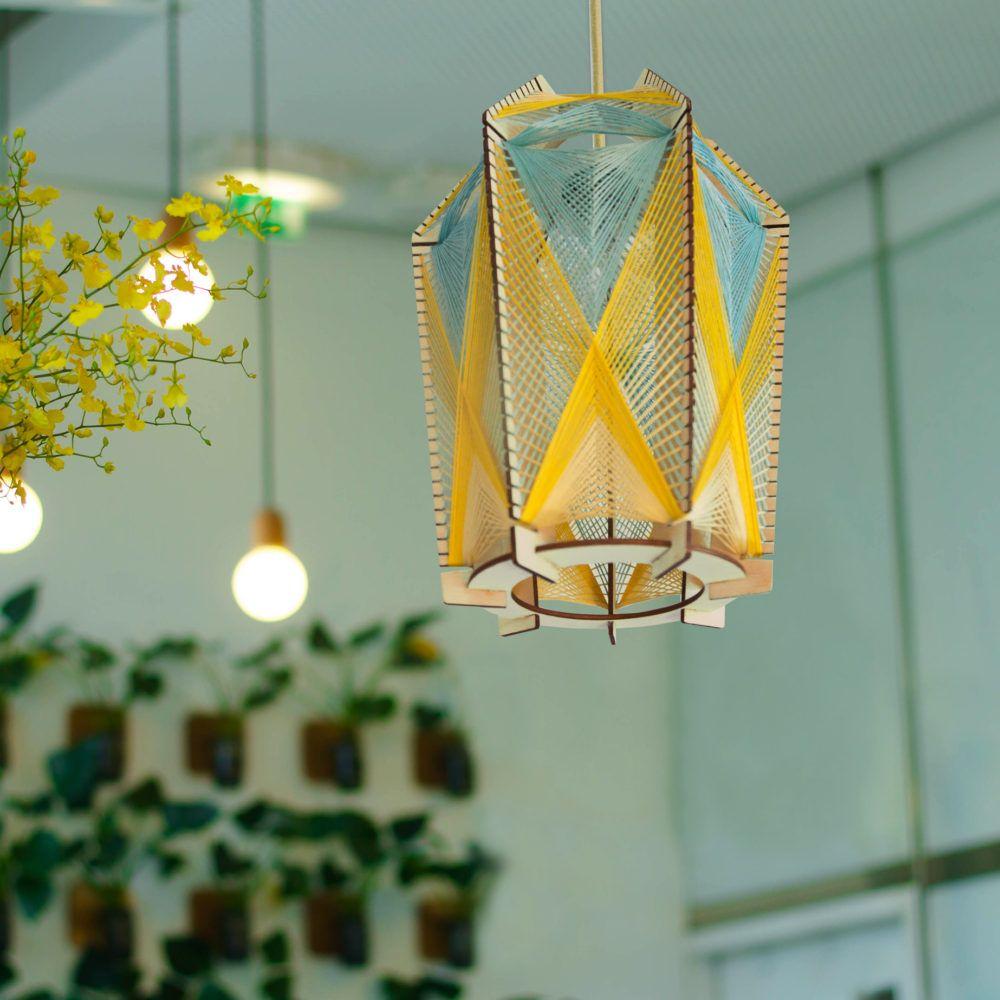 Suspension Collection Fil Tissé Pikwood Lampe Applique Marie oeCWBrdxQ