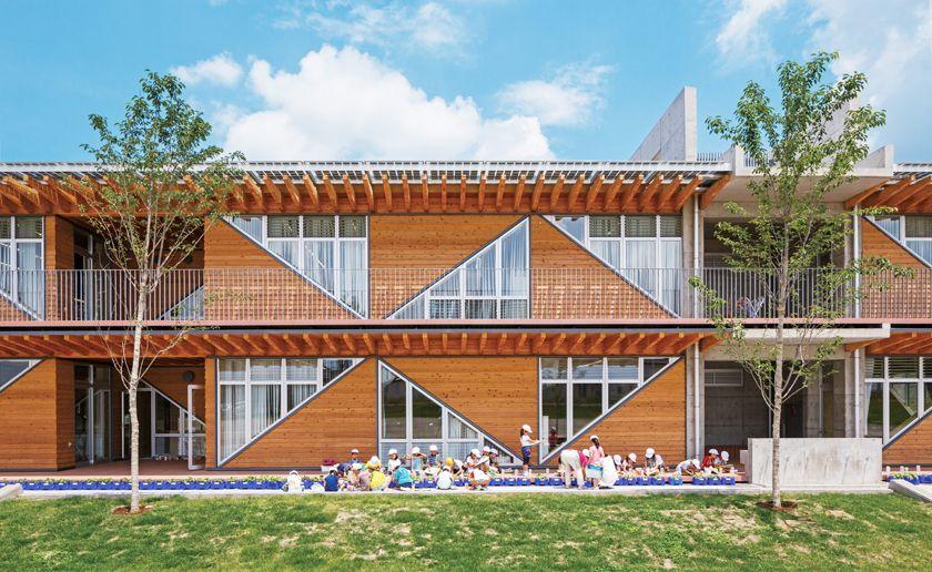 つくばみらい市立陽光台小学校 空間デザイン事例 デザイン情報サイト Jdn 空間デザイン デザイン 東京 建築