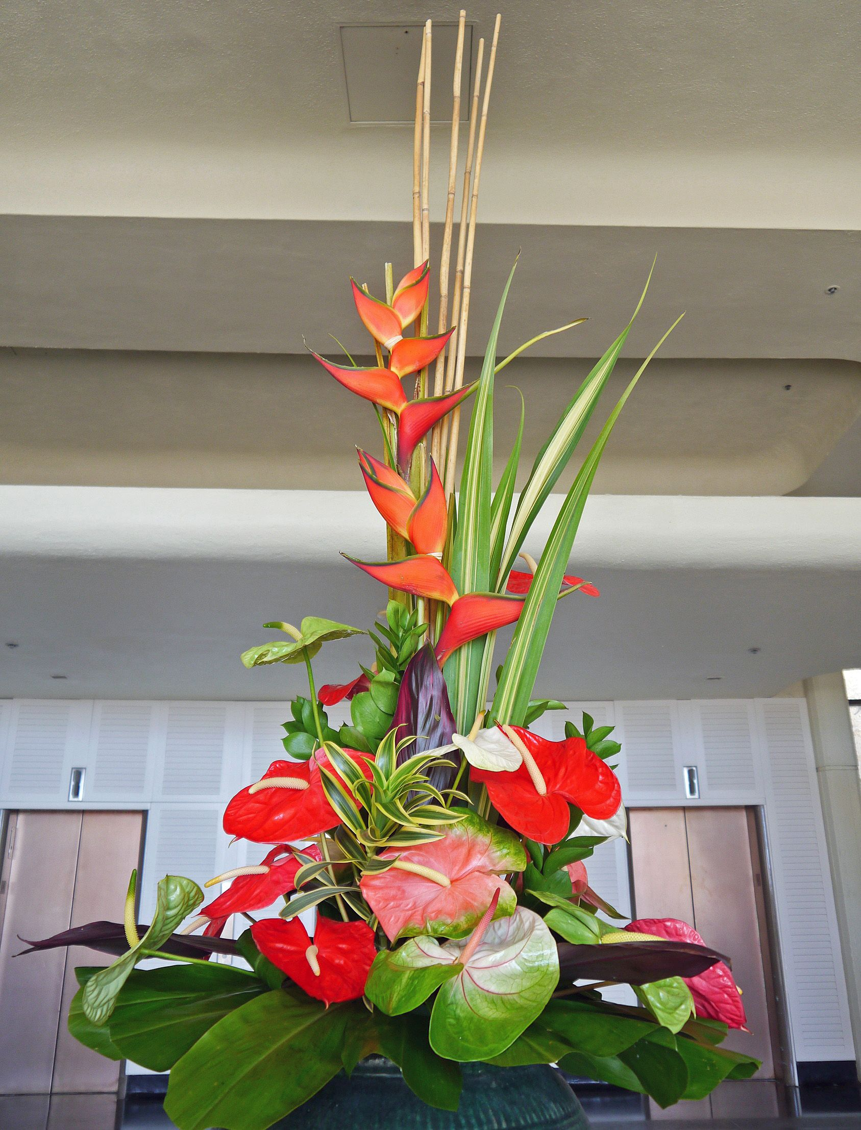 Tropical Flower Arrangementhawaii Plants And Flowers Of Hawaii