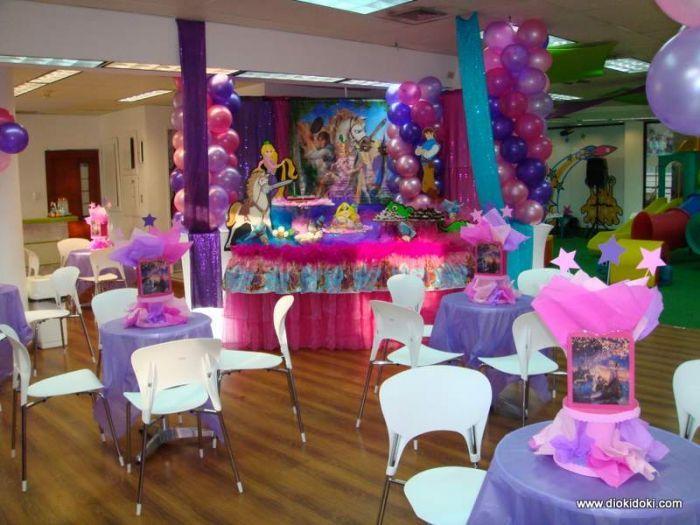 Decoraciónes de fiestas infantiles rapunzel - Imagui | Fiestas ...