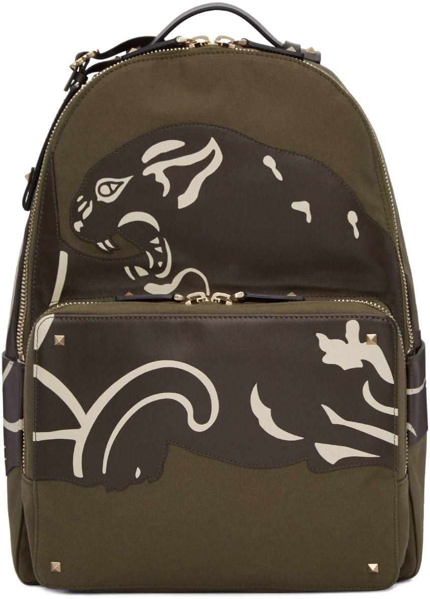 Valentino Canvas Backpack Best Seller KnRGBOEI